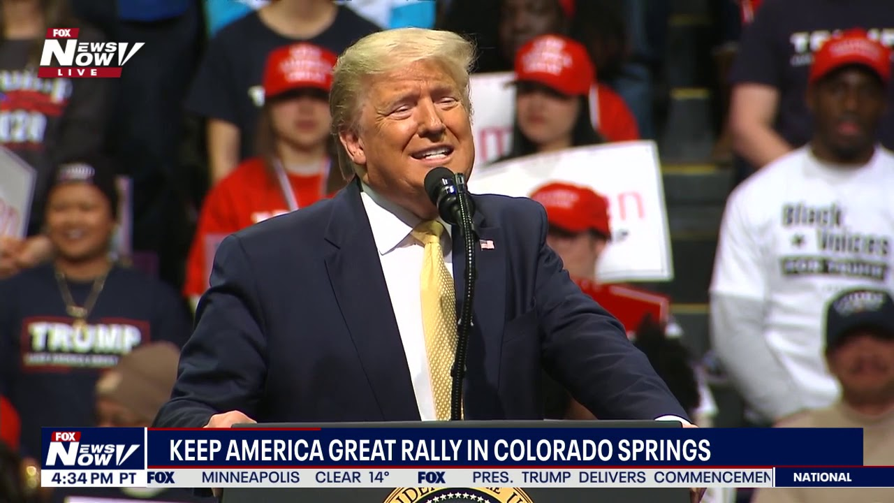 FULL RALLY: President Donald Trump in Colorado Springs, Colorado