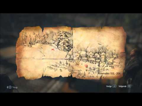 Assassin's Creed Rogue: All Templar Artifacts/Treasure maps Part 2 (River Valley)