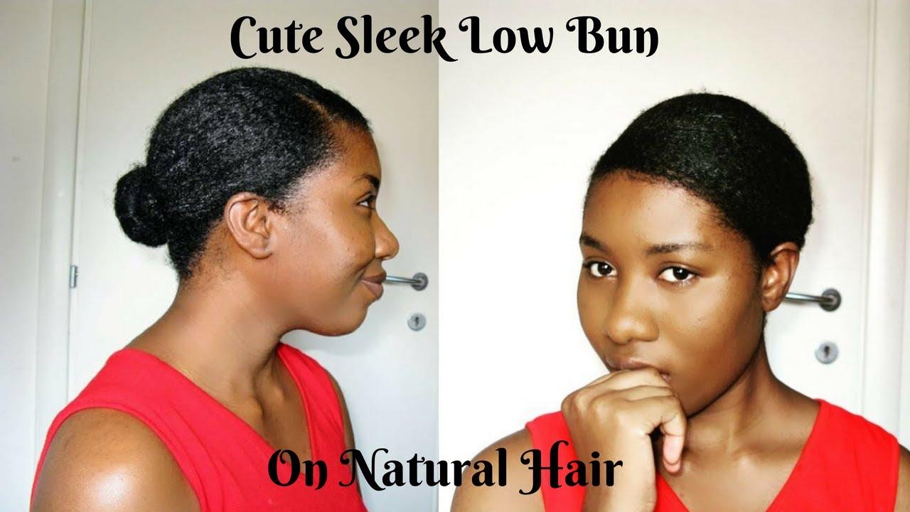 Curly Bun Natural Hair