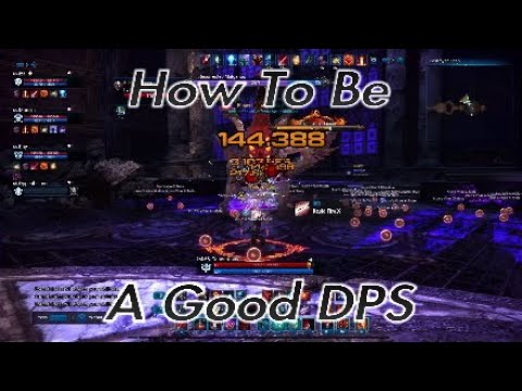 How To Be A Good DPS - Tera PS4/XB1
