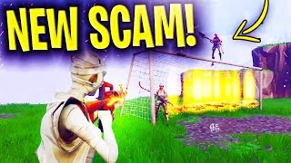 *NEW SCAM* The Soccer Goal Scam UPDATED BEWARE! Scammer Gets Exposed In Fortnite Save The World