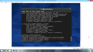Servidor DHCP en Fedora