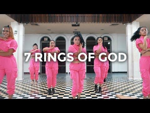 Ariana Grande - 7 rings x God is a woman Dance   besperon Choreography