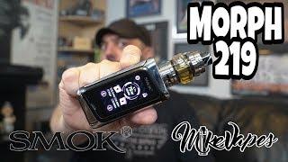 Alien v2? Smok Morph 219 Kit Review