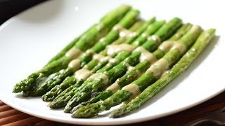 Asparagus with mustard sauce - How to make