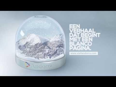 Reclame TV spot Andorra winter 2013/2014