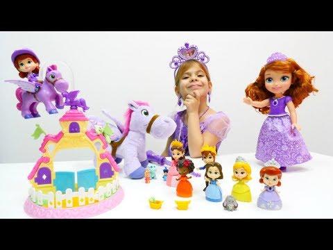 Prenses ile çocuk oyunları. Kız ları derlemesi