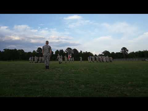 Civil air patrol present colors. 2019 hartselle high school hartselle Alabama.