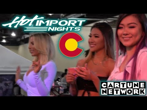 HOT IMPORT NIGHTS DENVER HIN tv - 2018 CARTUNE NETWORK COLORADO
