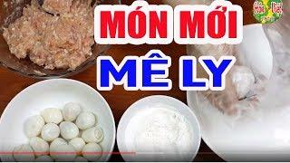 Thịt Gà Viên Chiên Bọc Trứng Cút Thơm Ngon
