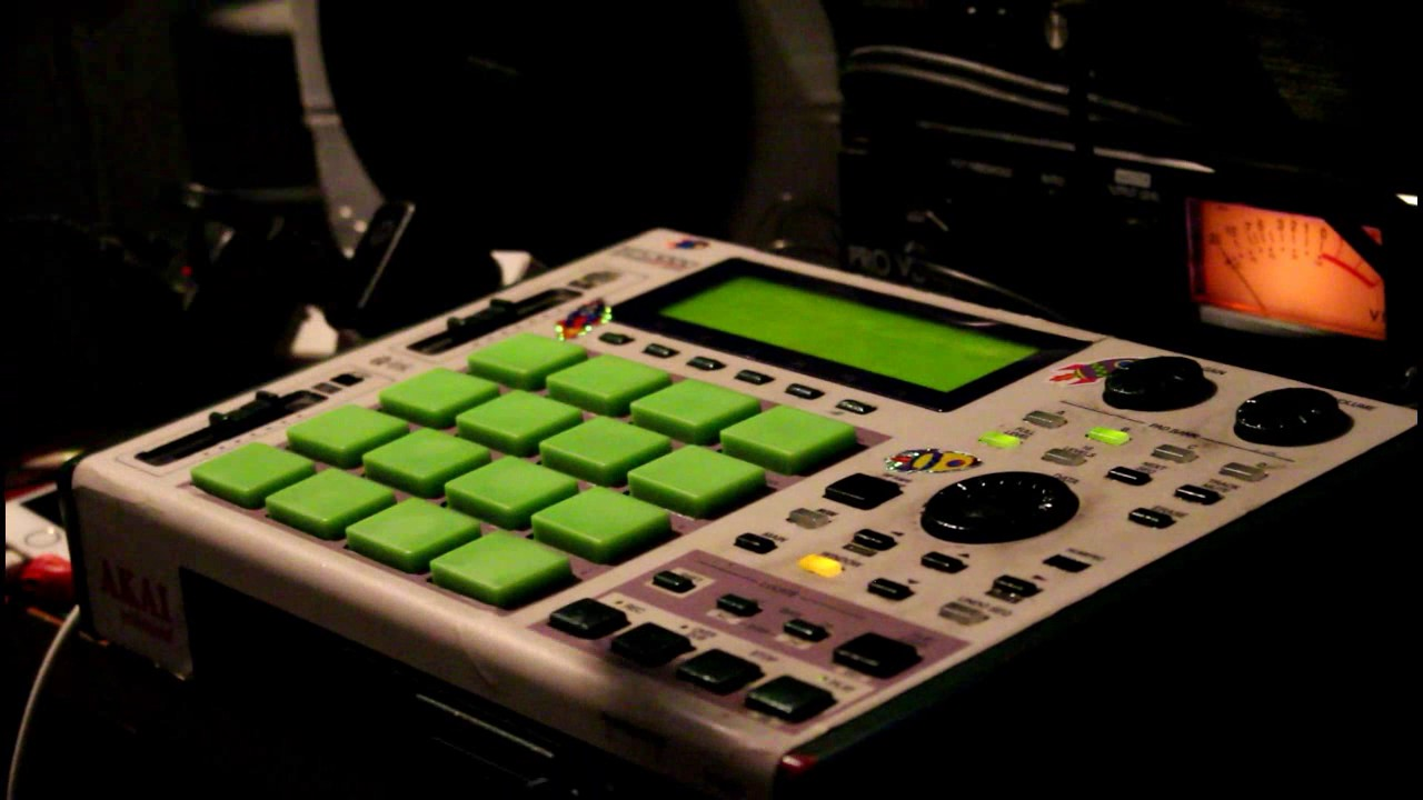 Live Beat-Making on the Akai MPC100