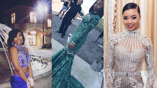 Makalah, Faith, & Camryn slays their 2017 Prom & Faith gets the att...