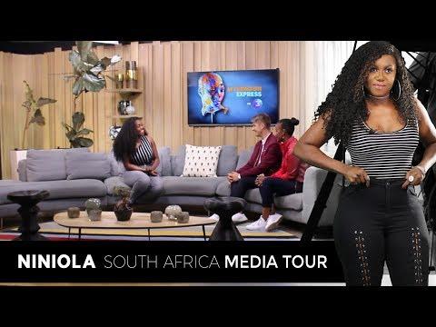 NINIOLA SOUTH AFRICA MEDIA TOUR