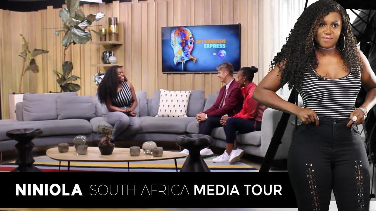 Niniola South Africa Media Tour Youtube