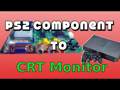 Playstation 2 Component to CRT Monitor - GBS8200 (2019)