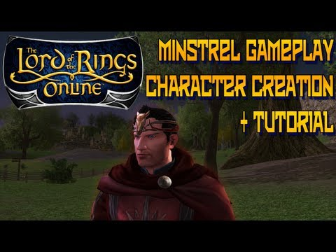 Lets Play LOTRO - Minstrel