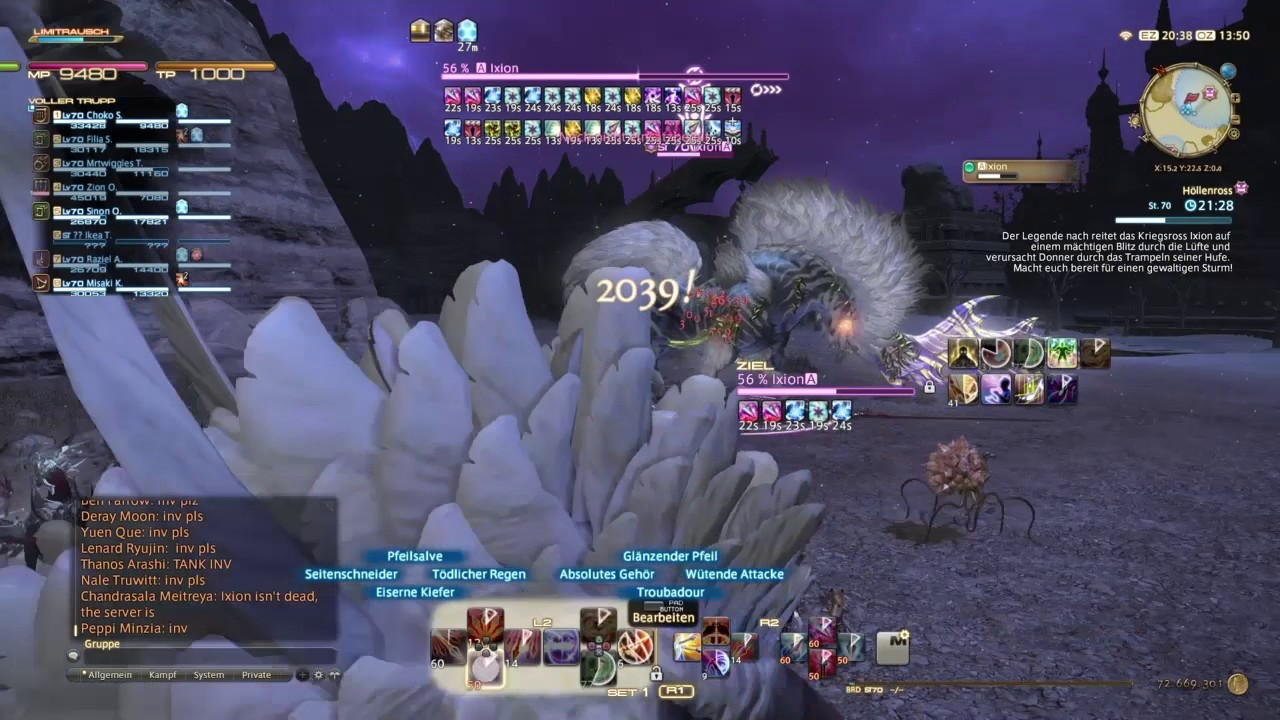 Ffxiv Ixion Fate Timer