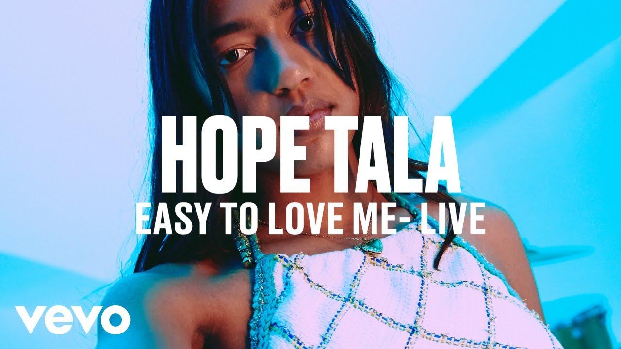 Hope Tala - Easy To Love Me (Live) | Vevo DSCVR