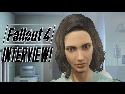 FALLOUT 4 Interview w/ Female Protagonist Courtenay Taylor & Voice Director Kal-El Bogdanove