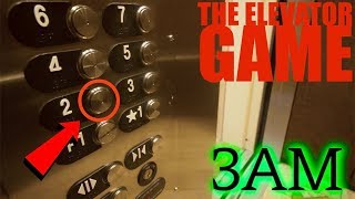 (GONE WRONG) PLAYING THE ELEVATOR GAME AT 3AM CHALLENGE (Jake Dufner is Missing)