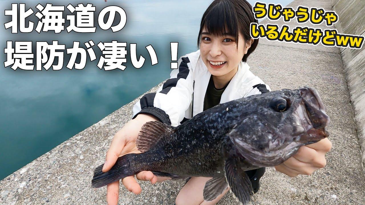 【日本最北端】糸切れた!?最北端で大慌て!こんな簡単に魚が釣れるの!?【北海道編】