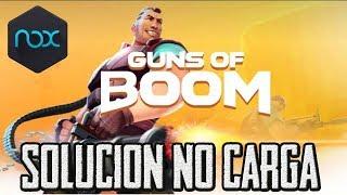 Tutorial Solucionar Juegos que no Cargan en Nox Ejemplo Guns of Boom
