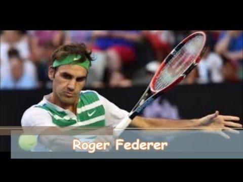 Top 10  Tennis Players-Andre Agassi,Bjorn Borg,Rod Laver,Pete Sampras,Rafael Nadal,Roger Federer