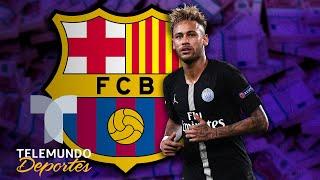 ¡Saca la chequera! Así es la oferta final del Barcelona por Neymar   Telemundo Deportes