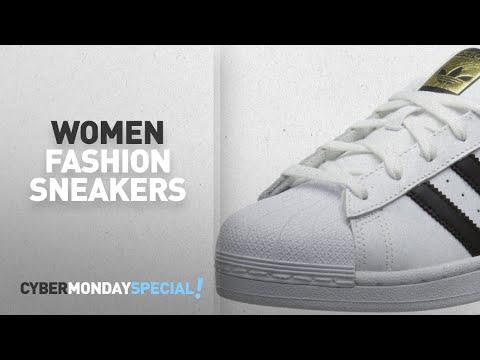 Cyber Monday Week | Women Fashion Sneakers: adidas Originals Women's Superstar W Fashion Sneaker,