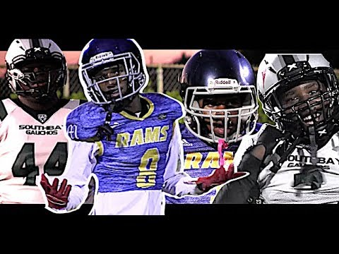 🔥🔥 14U LA Rams v South Bay 'Rac Pac' Gauchos (CA) These Kids are LEGIT !! Youth Highlight Mix