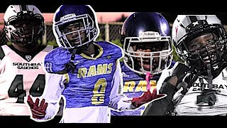 🔥🔥 14U LA Rams v South Bay 'Rac Pac' Gauchos (CA) These Kids are LEGIT !! Youth Highlight Mix