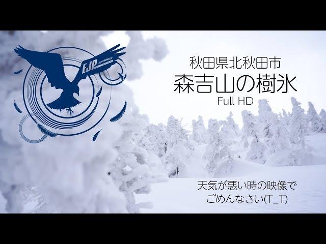 森吉山の樹氷【Full HD】