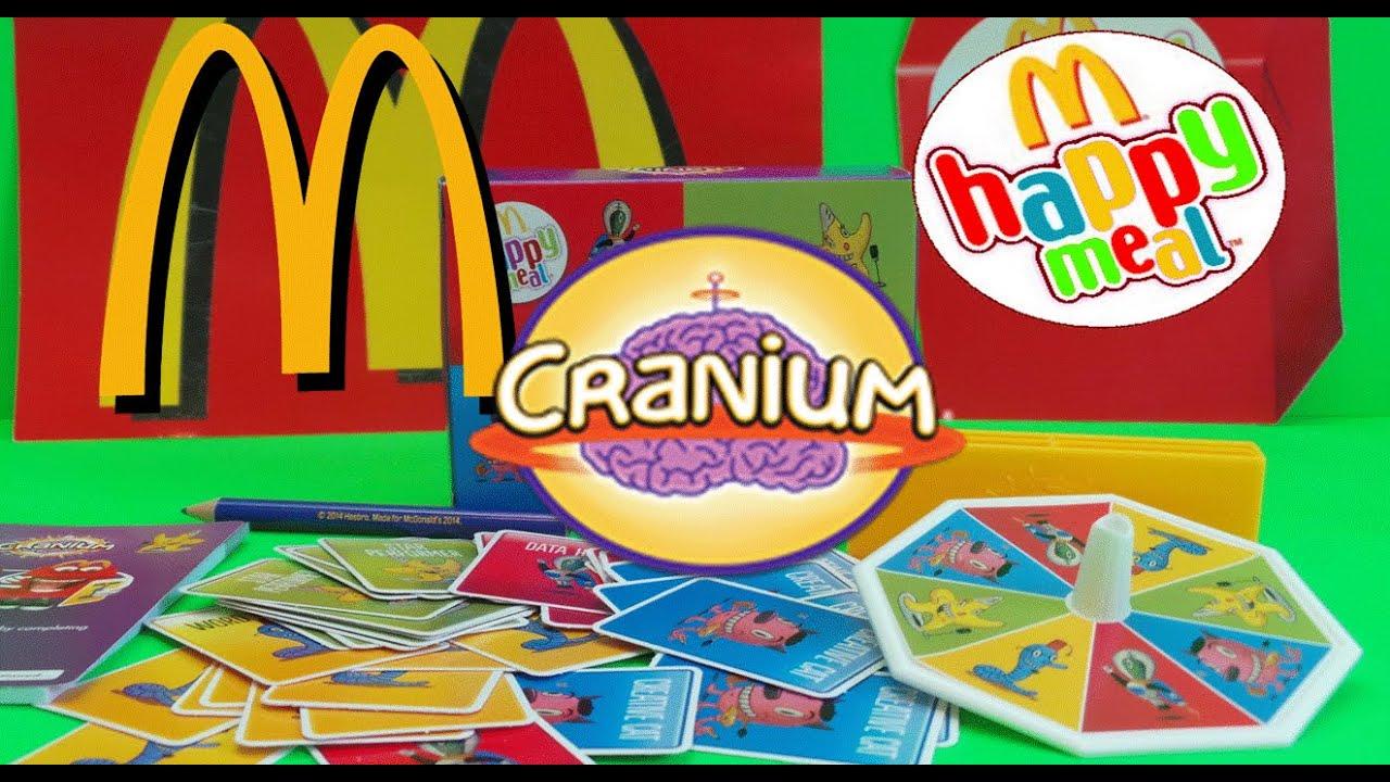 Mcdonalds Happy Meal Uk Set 6 Hasbro Cranium Game Unboxing And How