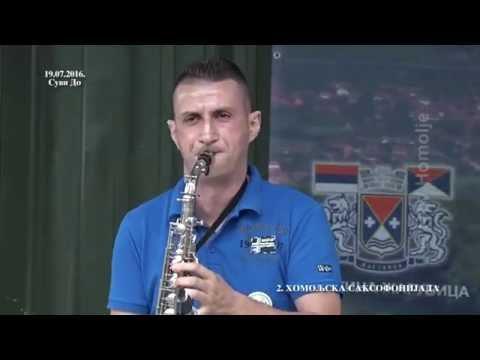 Igor Zekutor - Homoljska saksofonijada Suvi Do 2016.