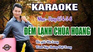 Đêm lạnh chùa hoang | Karaoke dây kép | Hoàng Việt Trang | nhạc hay