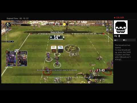 Blood Bowl 2 CCL The Fartpipes Game 1 |