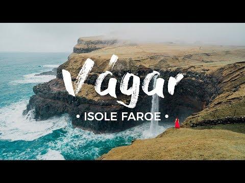 Sfidando le INTEMPERIE su Vágar! 💨 Isole Faroe: guida di viaggio [ENG subs]