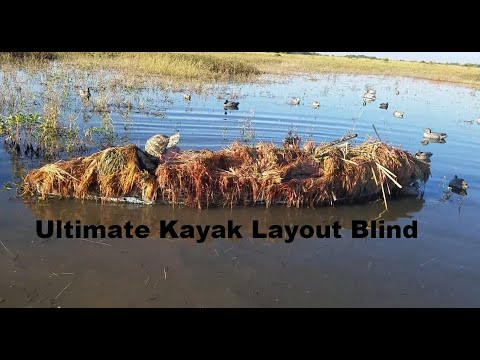 Kayak Duck Blind