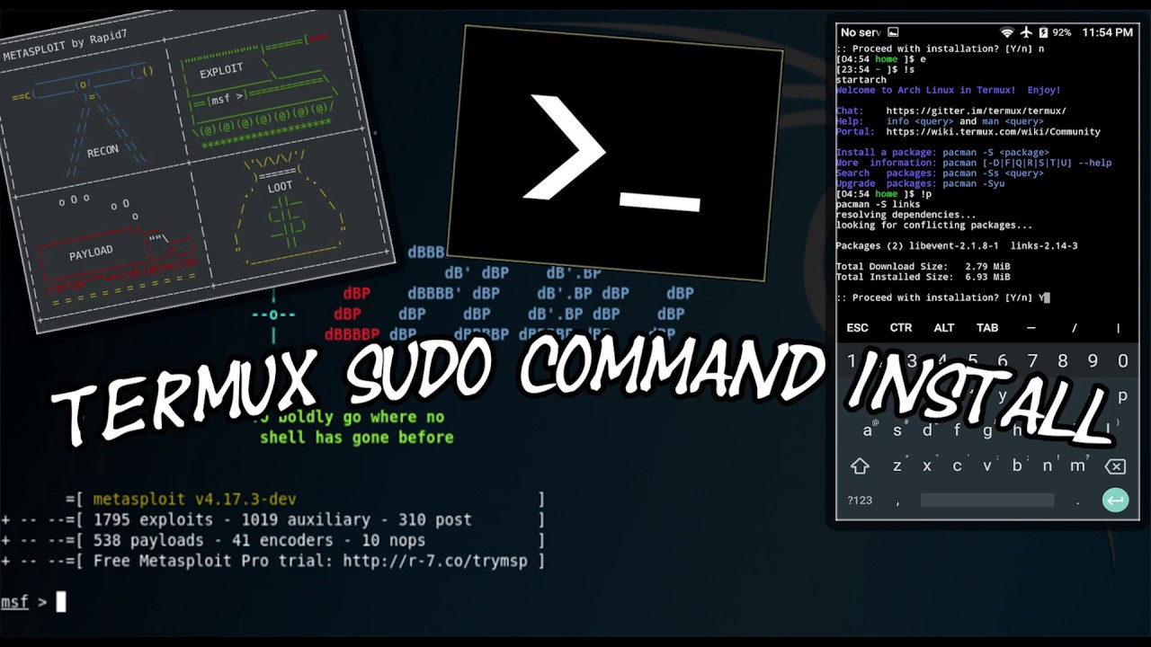 TERMUX SUDO COMMAND Install Android