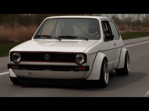 Clean VW Rabbit MK1