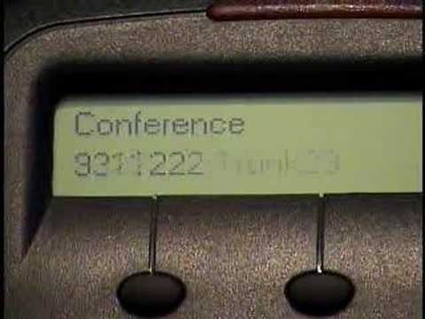 NBX 3102 User Training - Conference