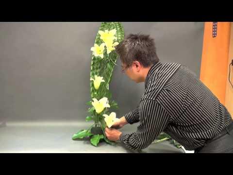CH 18 教堂擺設—單色系列 Church Flower Arrangement#18