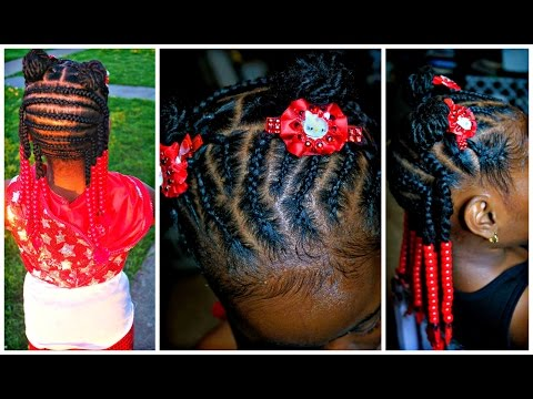 Natural Hair: Little Girls EASY Twist Out Pony Tutorial from YouTube · Duration:  4 minutes 22 seconds