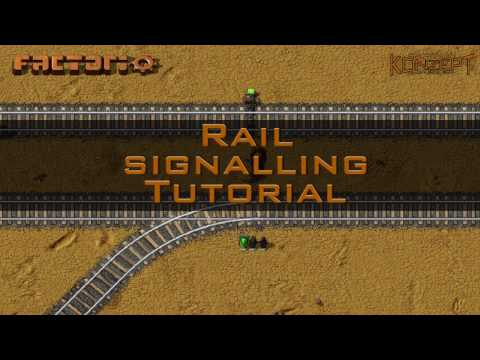 Factorio Tutorial: Rail Signalling - Easy Rules for Placing Signals