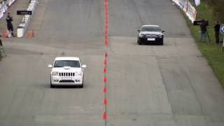Bmw M6 Evotech Vs Jeep Grand Cherokee Srt-8