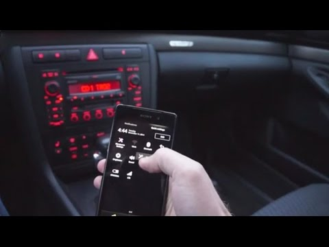 2001 Audi A4 Bluetooth adapter installation - YouTube