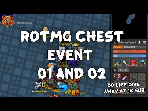 RotMG Chest Event O1 And O2 Oryx Castle