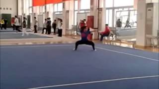 Three samples of the Changquan Third International Compulsory Routine