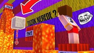 KİMSENİN GÖREMEDİĞİ TUZAK TROLLÜ - Minecraft Troll Parkur
