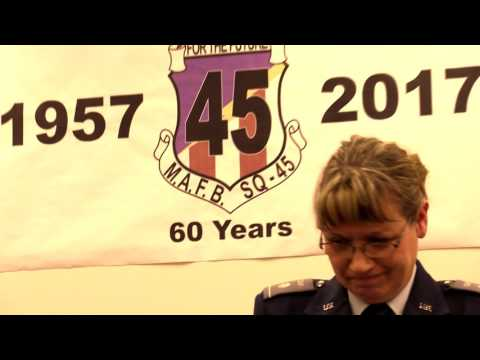 Squadron 45 60th Anniversary and Change of Command